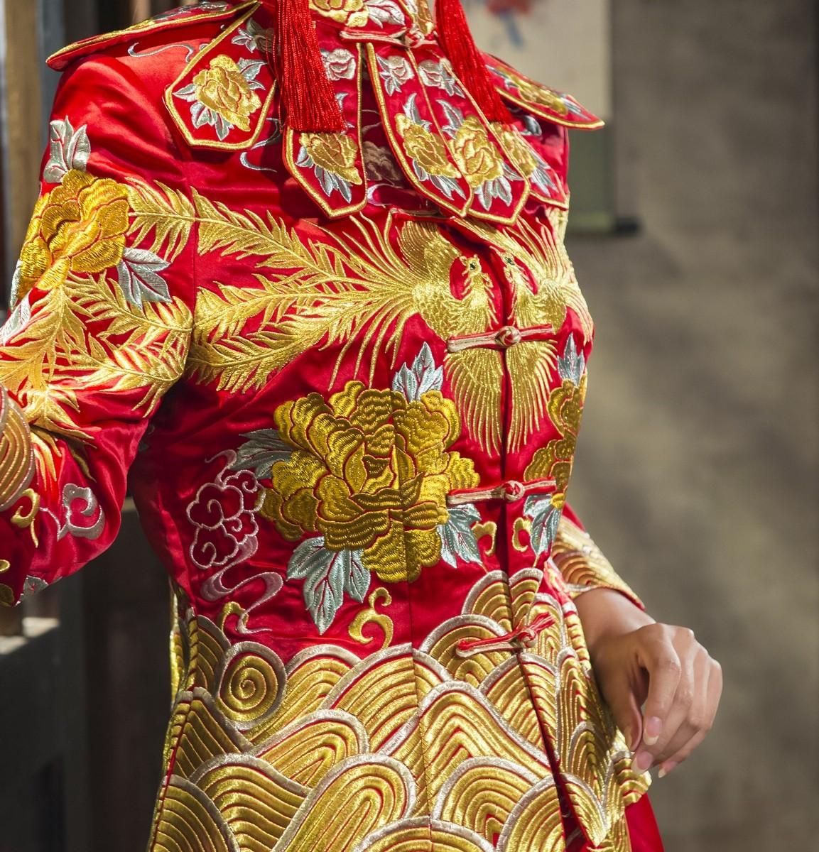 中式禮服租借-秀禾服