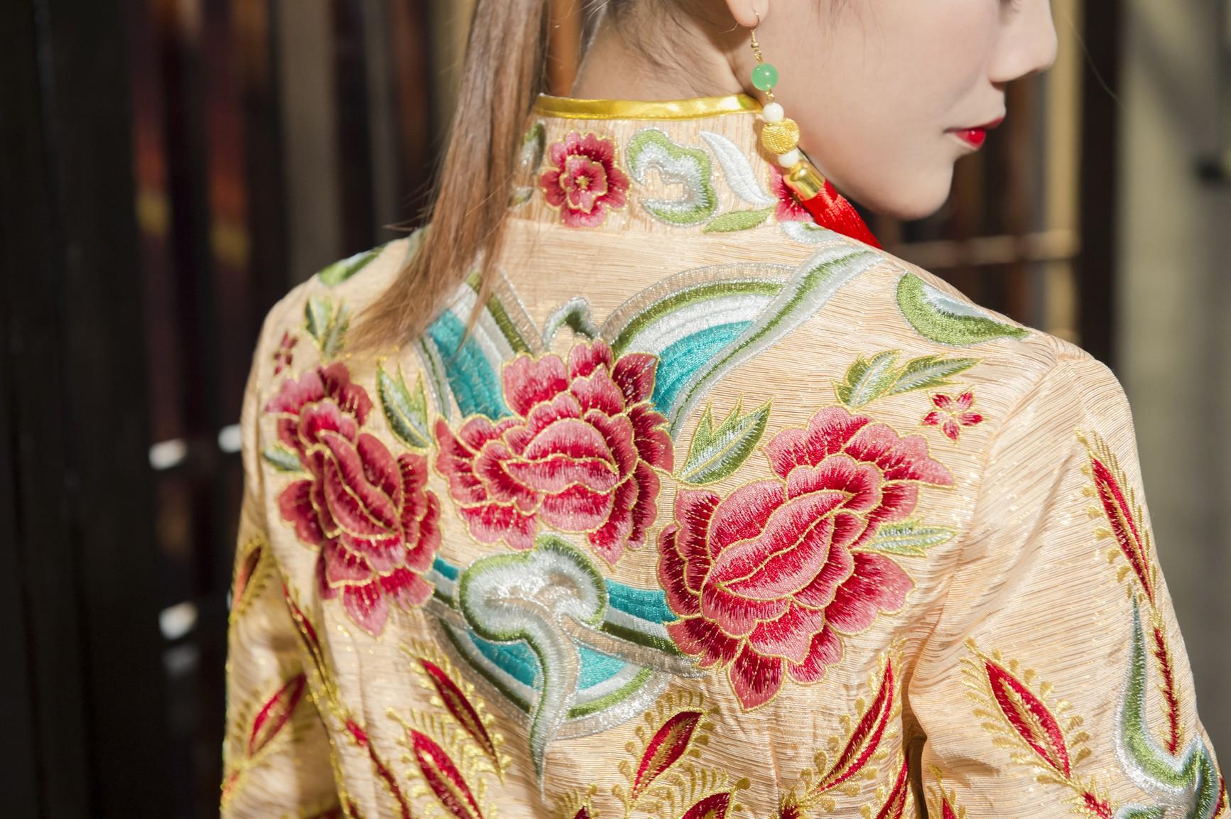 中式禮服租借-秀禾服-wedding-dress