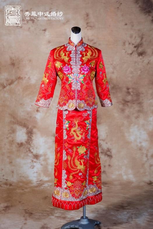 中式龍鳳褂,龍鳳褂,龍鳳褂推薦,龍鳳褂訂製,龍鳳褂出租,龍鳳褂款式,龍鳳褂價格